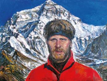В. Тайдаков. Восхождение на Эверест. В базовом лагере 5200 м.