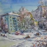 В. Тайдаков. Март в микрорайоне 2011