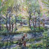 В. Тайдаков. Майский дождь 2010