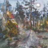 В. Тайдаков. Утренняя луна 2010