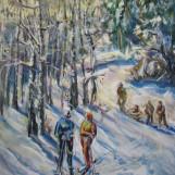 В. Тайдаков. Солнечный зимний день 2011